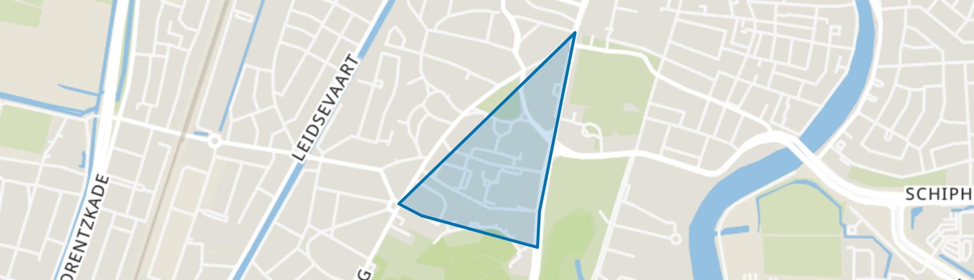 Florapark, Haarlem map