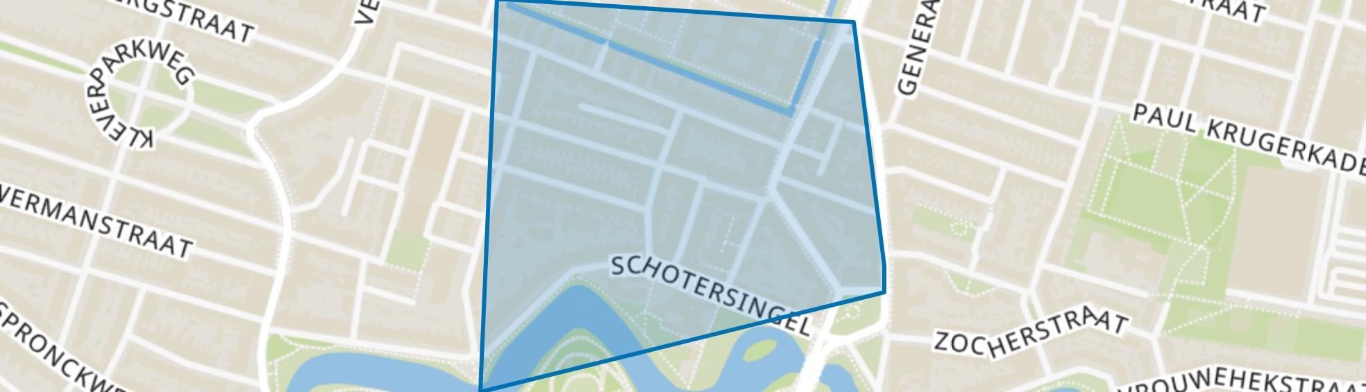 Frans Halsbuurt, Haarlem map