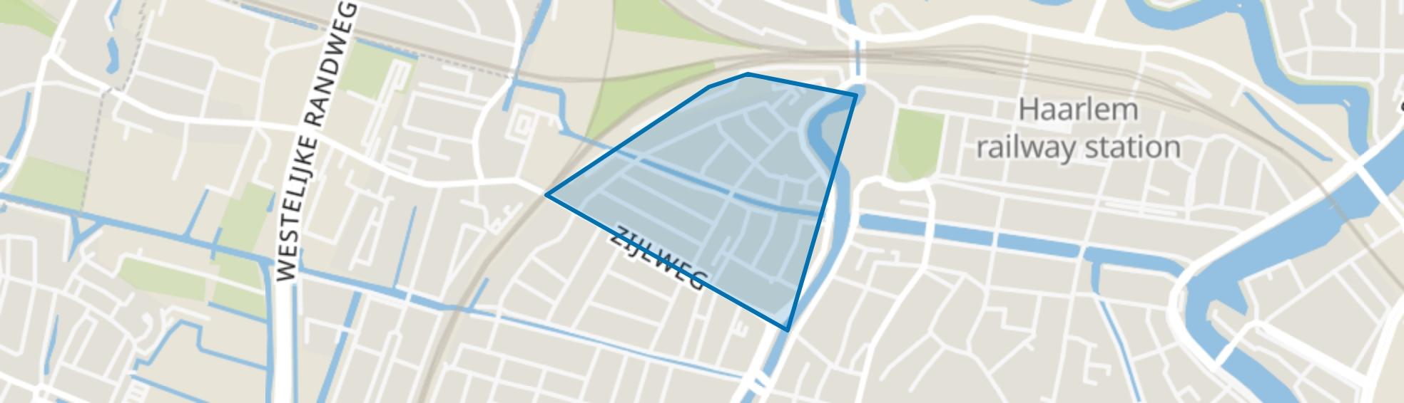 Garenkokerskwartier, Haarlem map