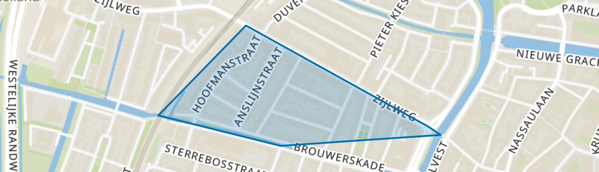 Hasselaersbuurt, Haarlem map