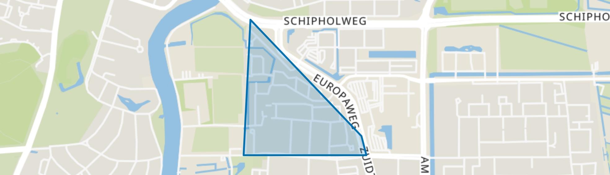 Kruidenbuurt, Haarlem map
