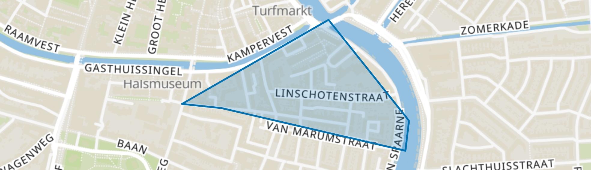 Rozenprieel-noord, Haarlem map