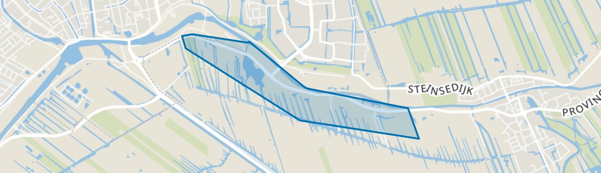 Beneden-Haastrecht, Haastrecht map