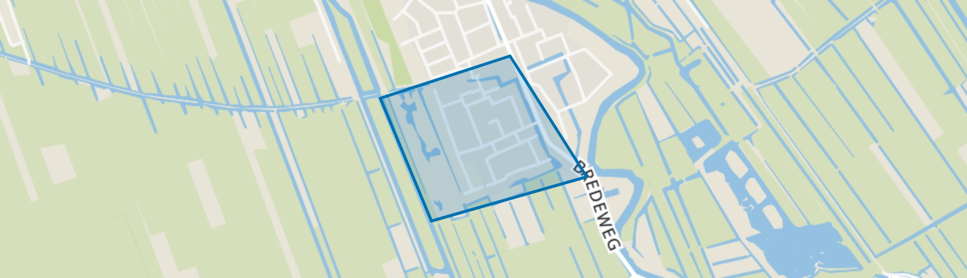 Bergvliet, Haastrecht map