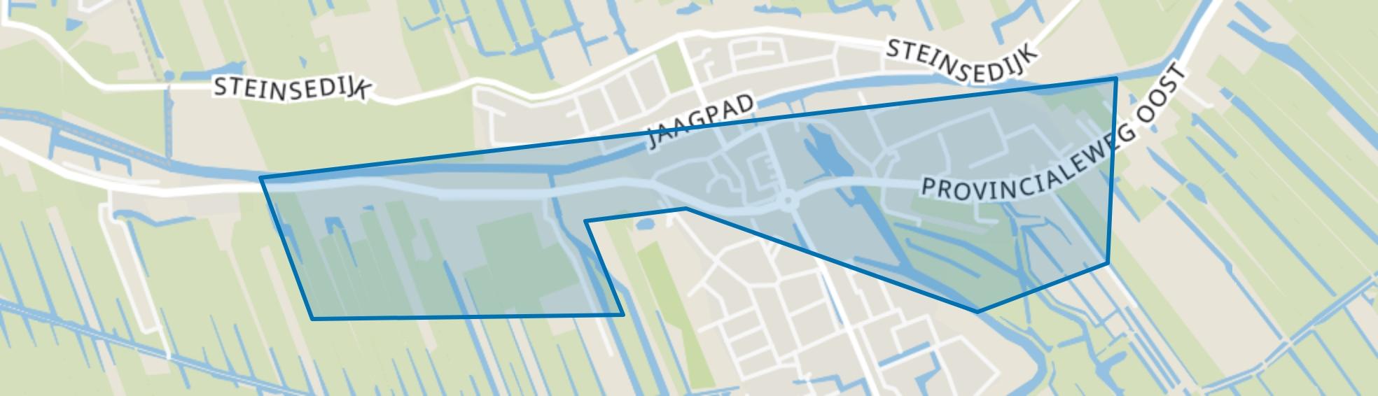 Haastrecht-Dorpskern, Haastrecht map