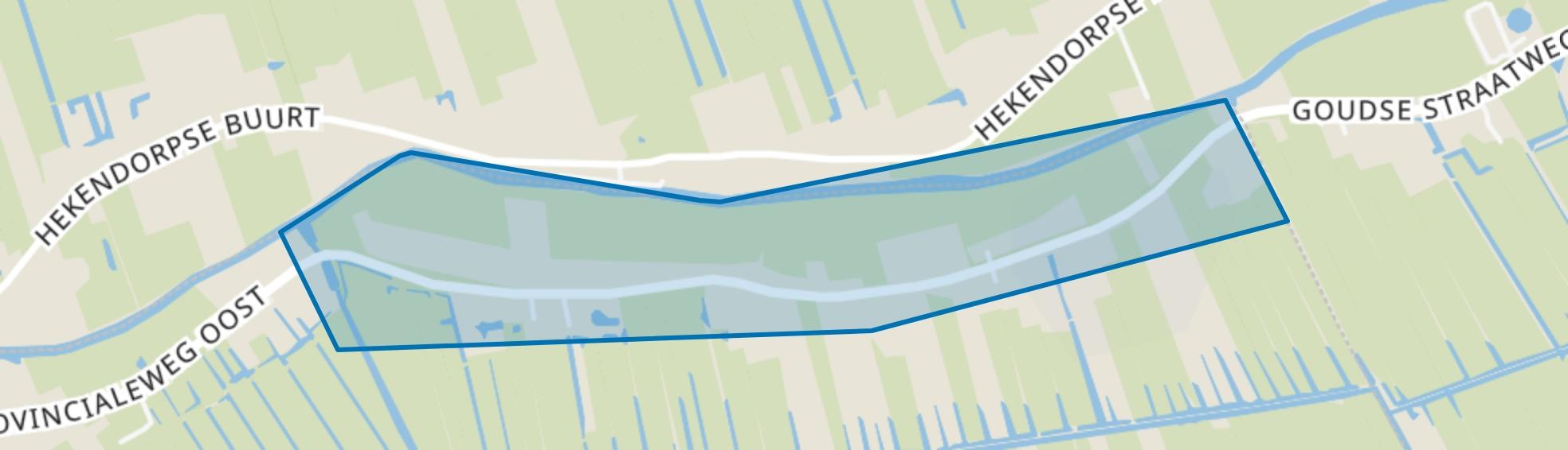 Rozendaal, Haastrecht map