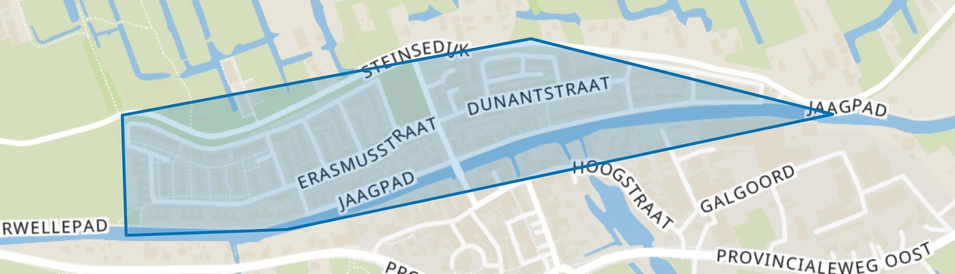 Stein, Haastrecht map