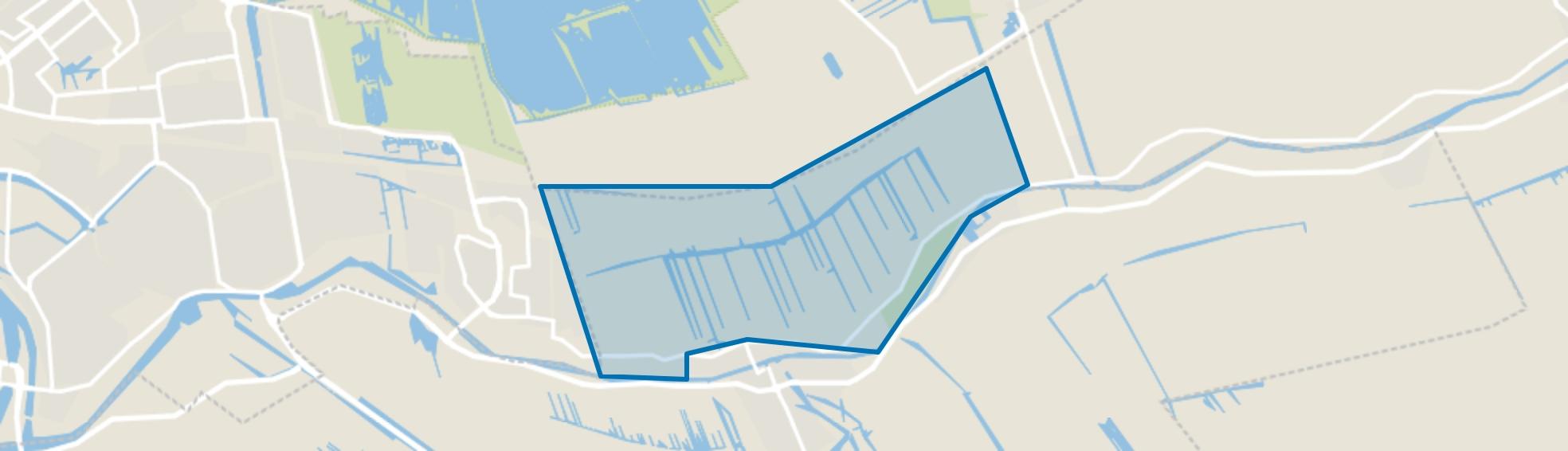 Verspr. huizen Haastrecht Noord, Haastrecht map
