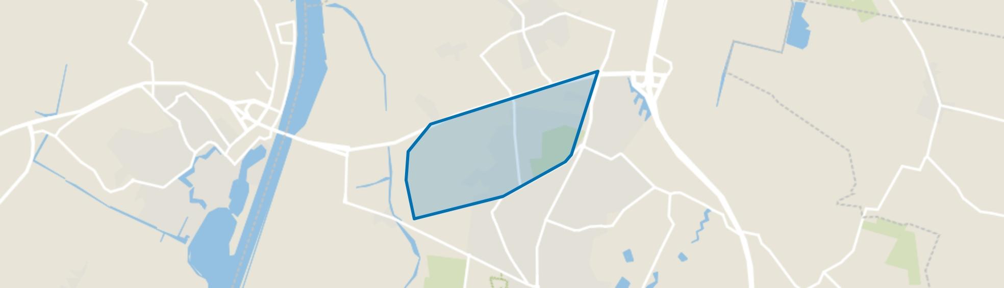 De Beek, Halsteren map