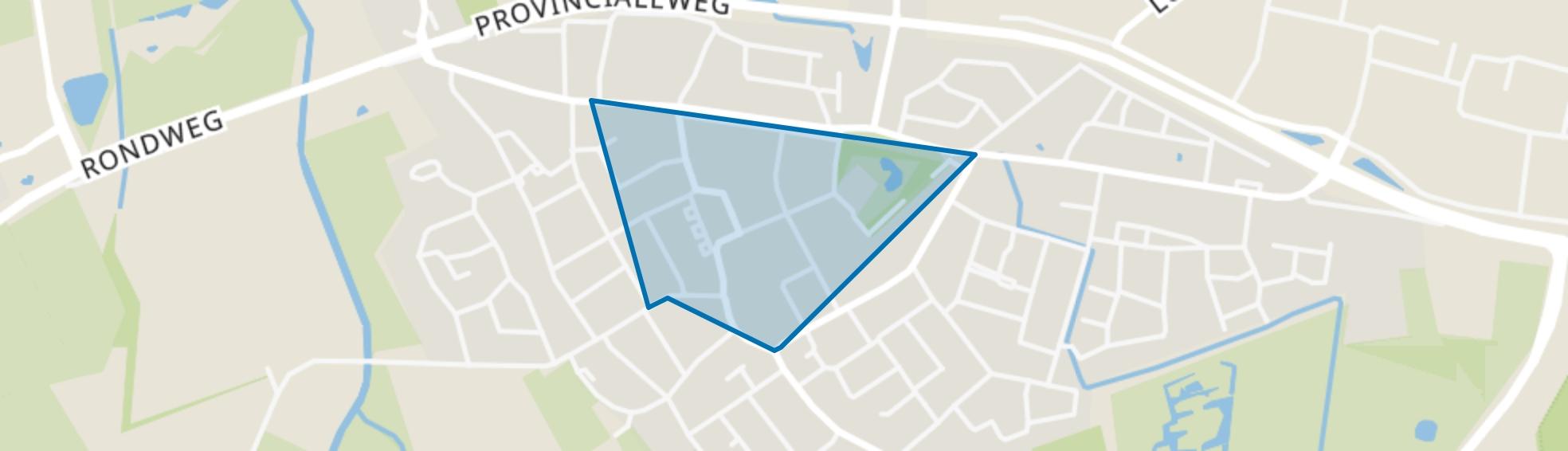 Hapert Centrum, Hapert map
