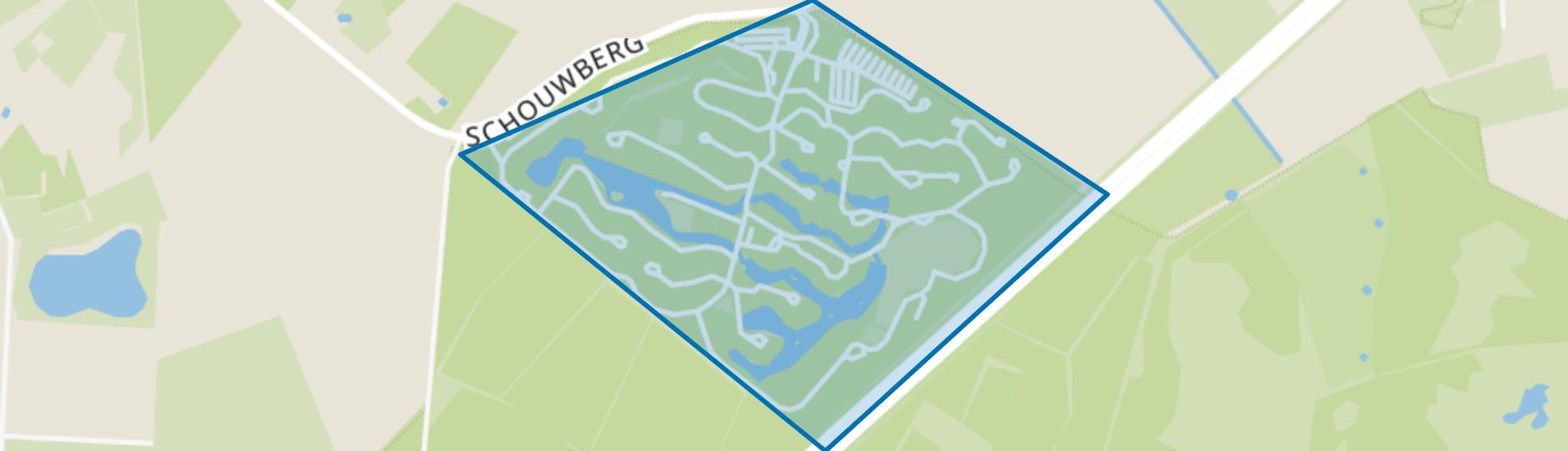 Hapert Het Vennenbos, Hapert map