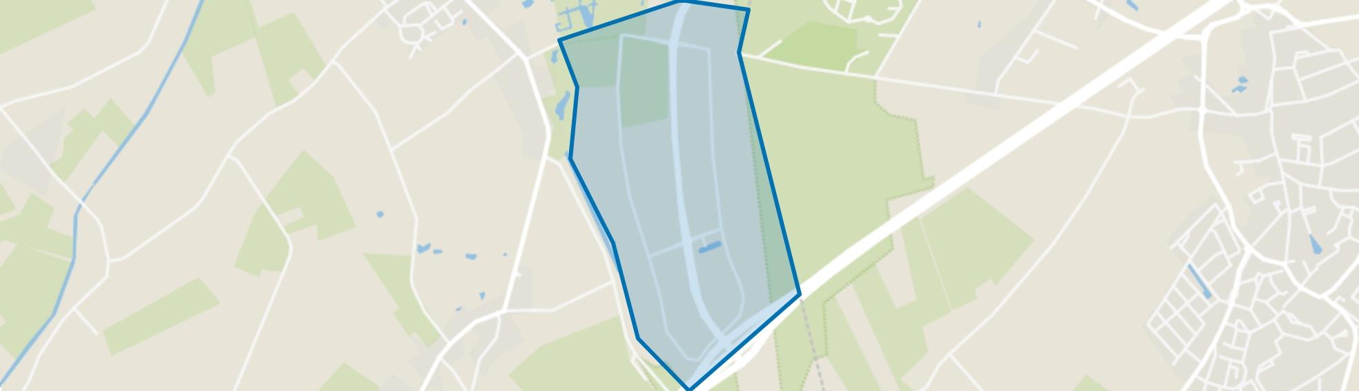 Hapert Kempisch Bedrijvenpark, Hapert map