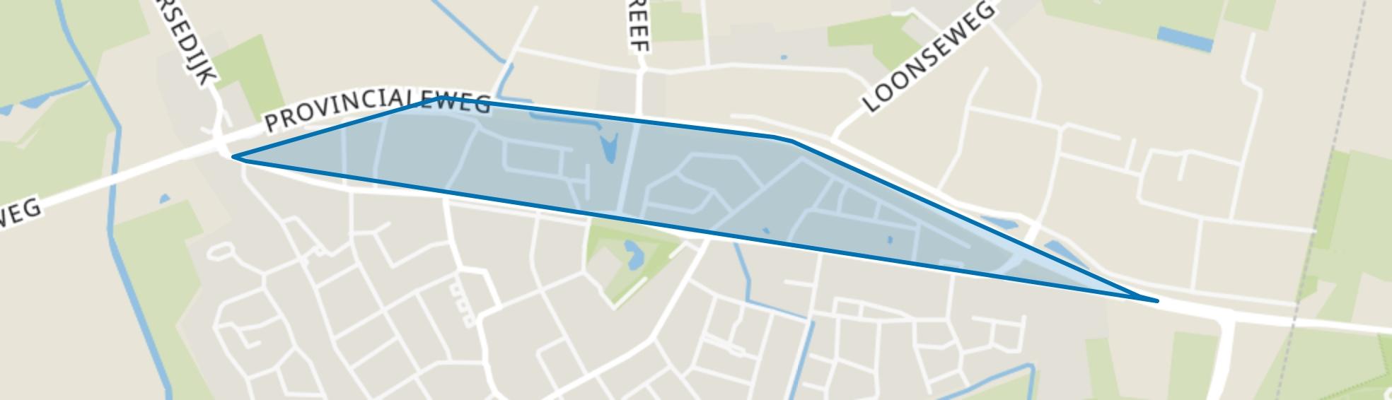 Hapert Noord, Hapert map