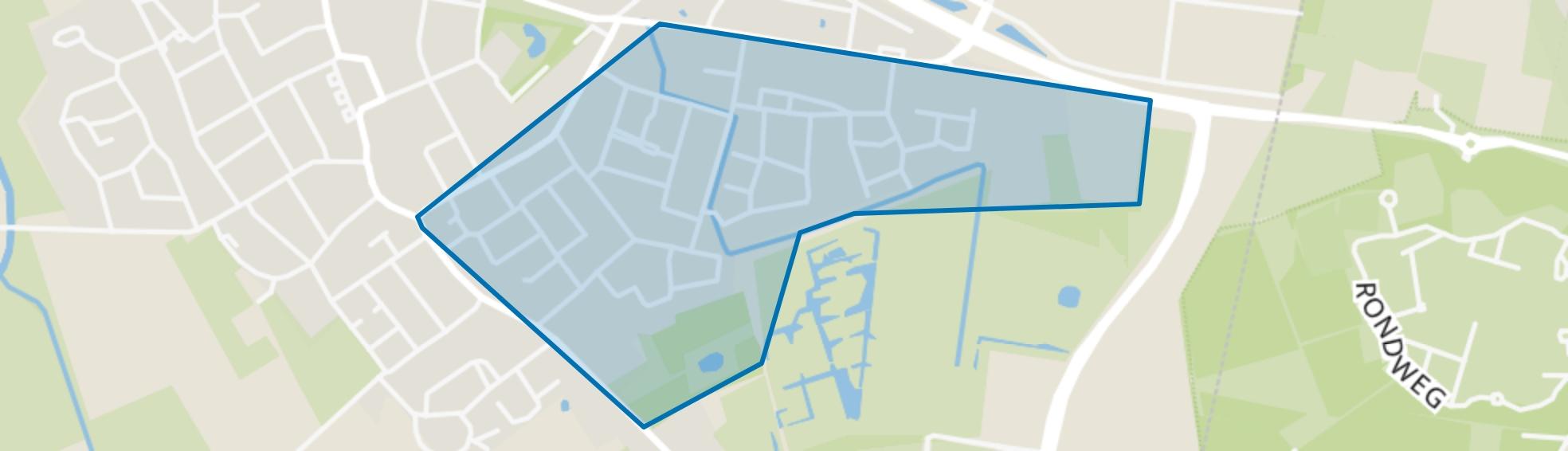 Hapert Oost, Hapert map