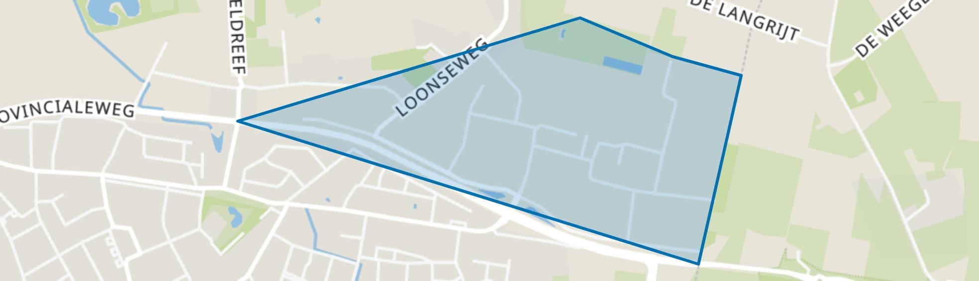 Industrieterrein Hapert, Hapert map