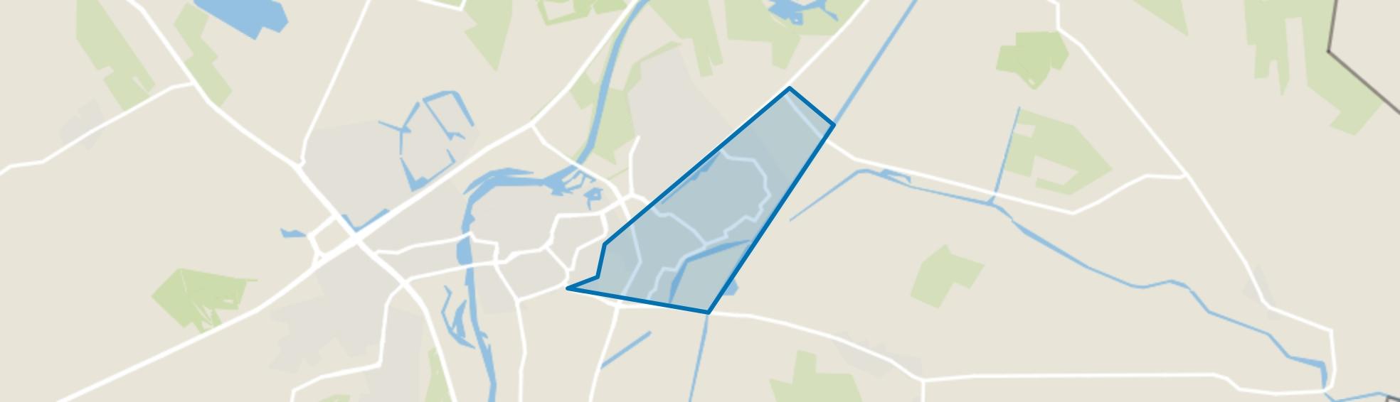 Baalderveld, Hardenberg map