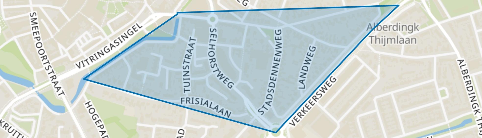 Friesegracht-Noord, Harderwijk map