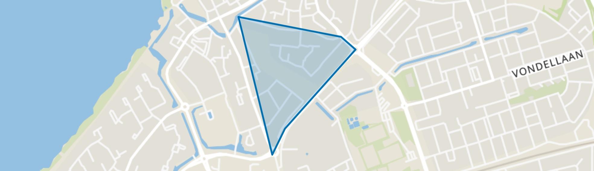 Friesegracht-Zuid, Harderwijk map