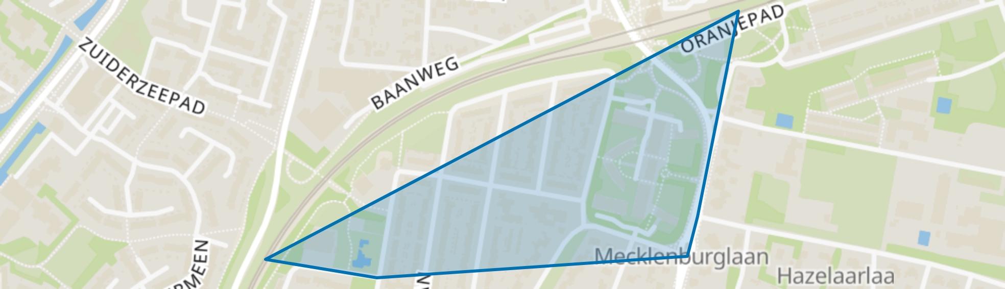 Slingerbos-Noord, Harderwijk map