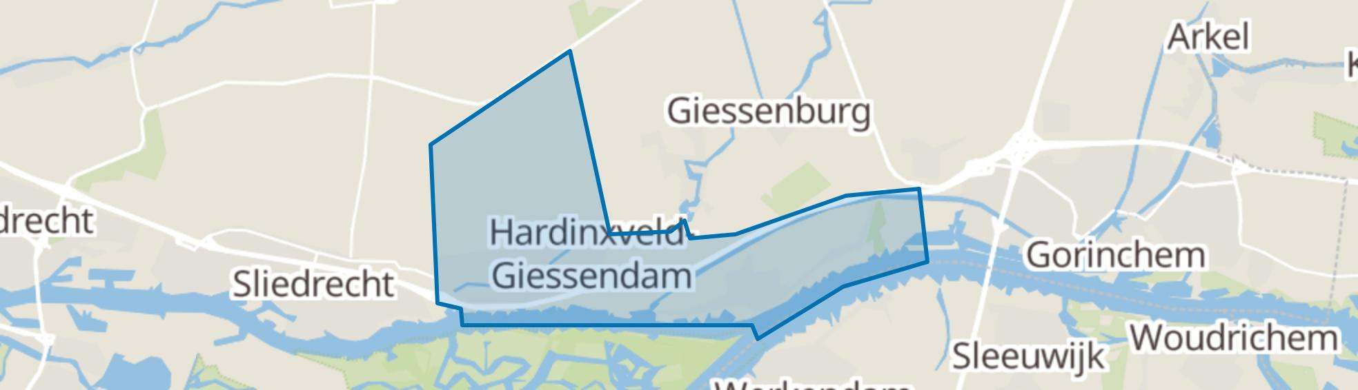 Hardinxveld-Giessendam map