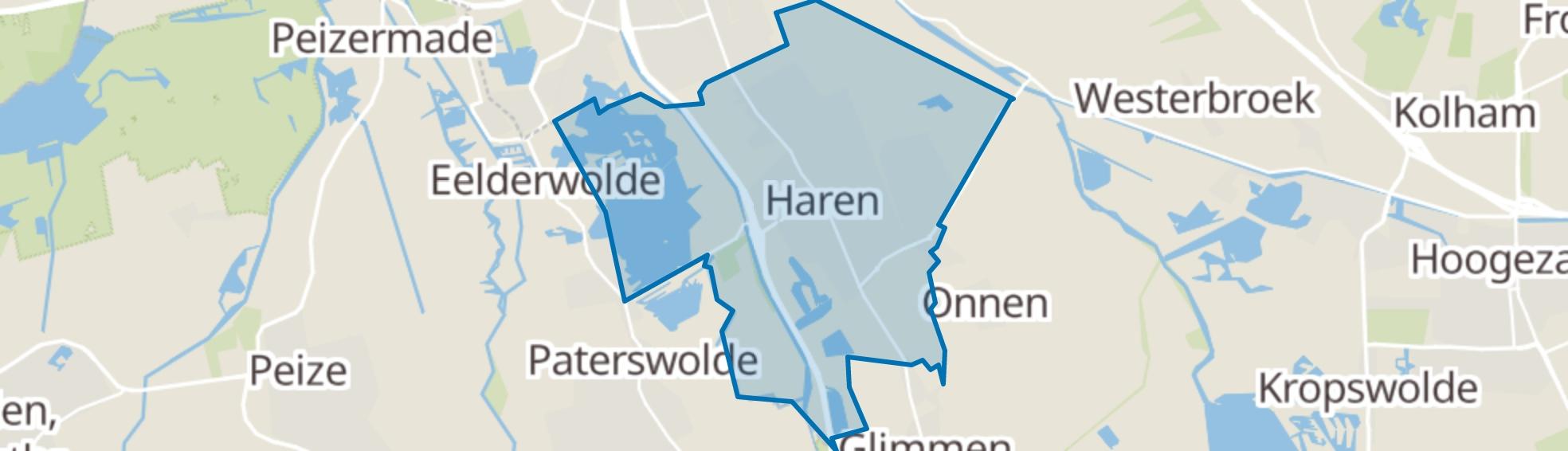 Haren (GR) map