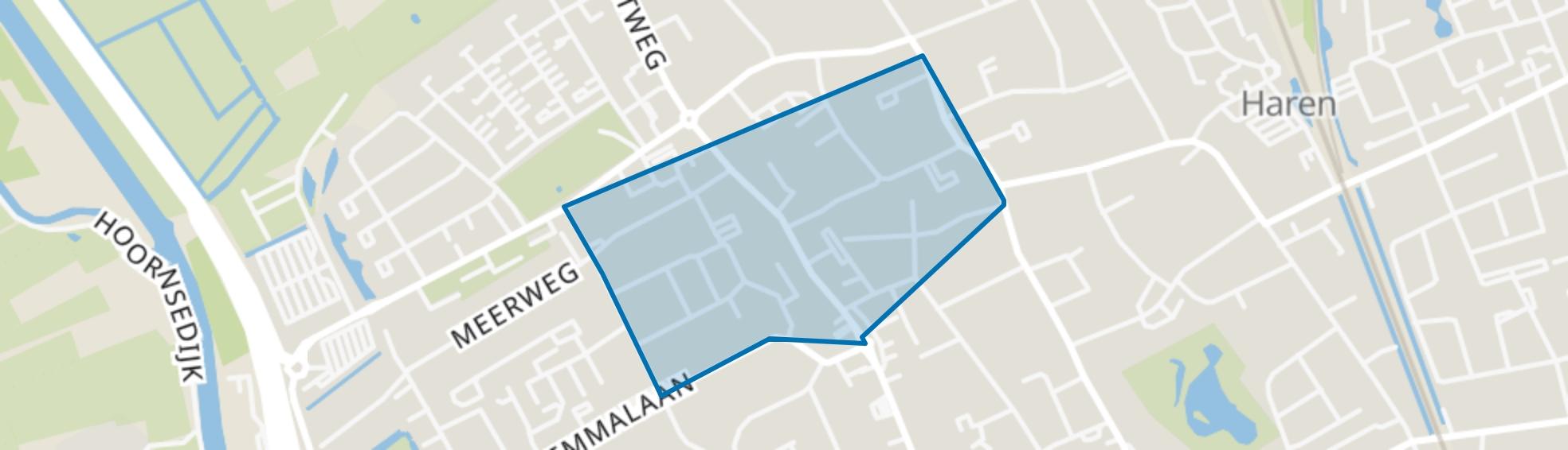 Haren-Centrum, Haren (GR) map