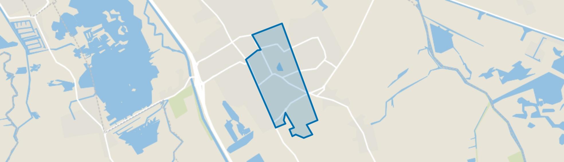 Haren-Zuidoost, Haren (GR) map