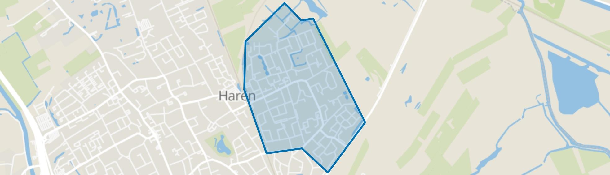 Oosterhaar, Haren (GR) map