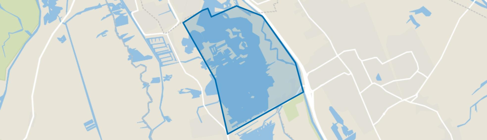 Paterswoldsemeer, Haren (GR) map