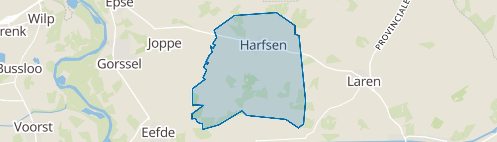 Harfsen map