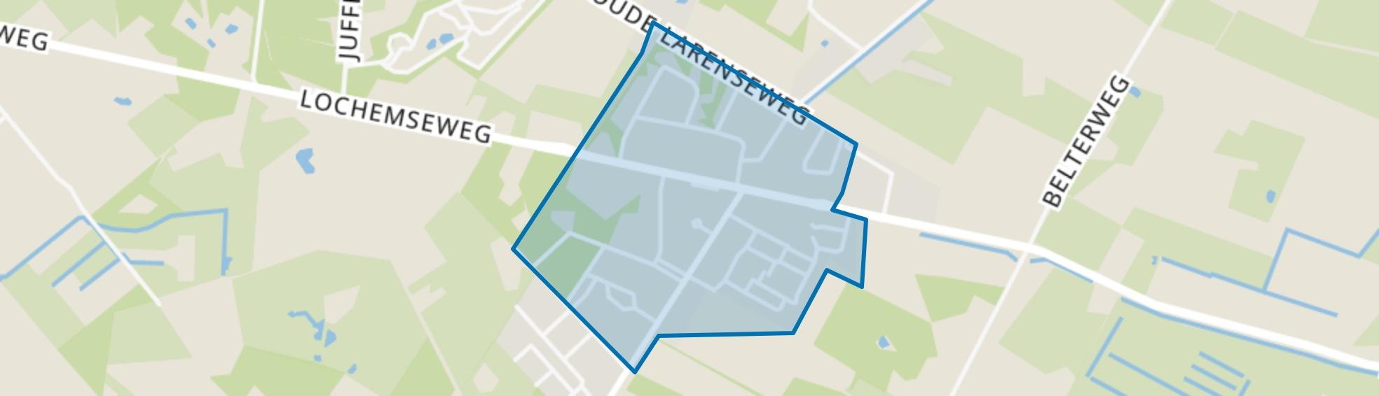 Harfsen, Harfsen map