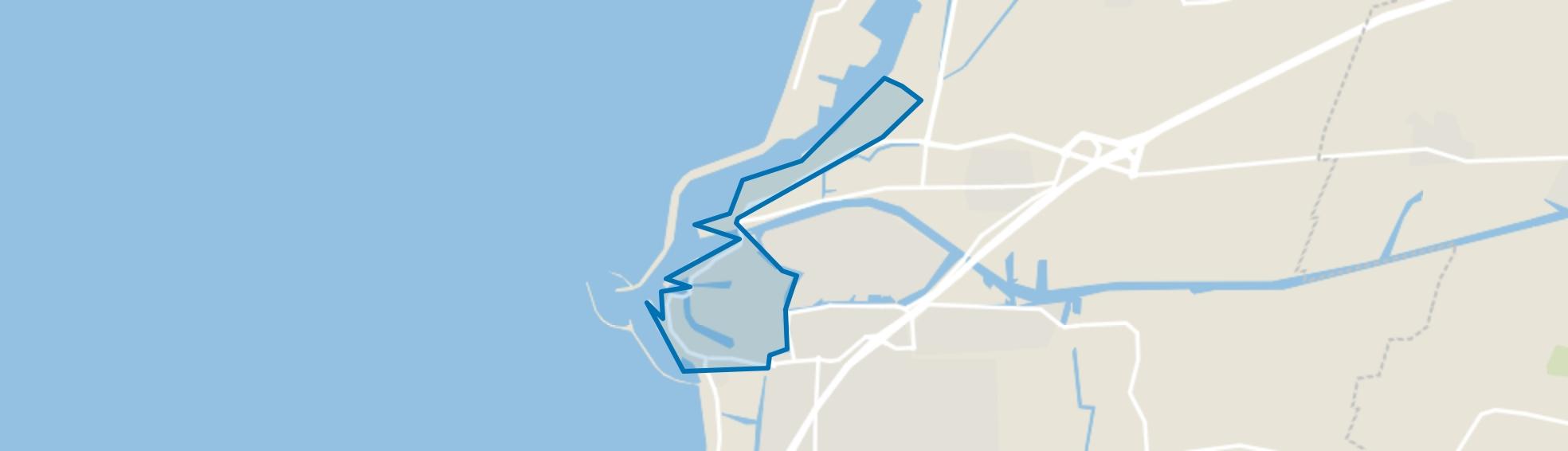 Binnenstad, Harlingen map