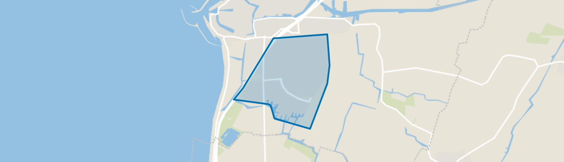 Oosterpark, Harlingen map