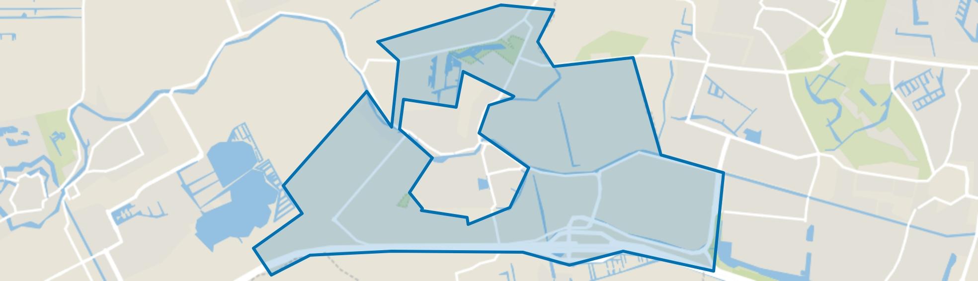 Buitengebied Harmelen, Harmelen map