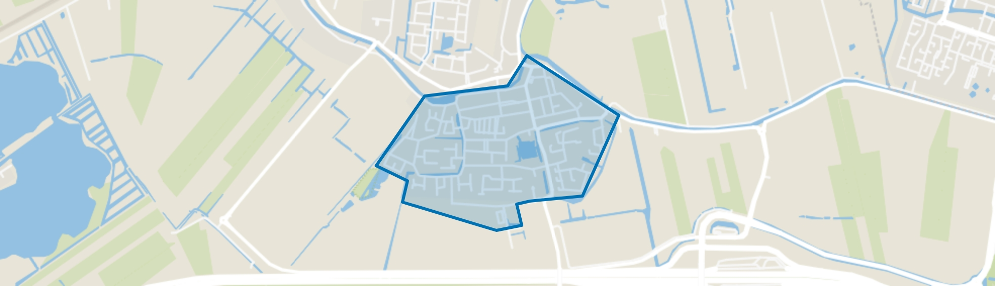Harmelen-Zuid (dorp), Harmelen map