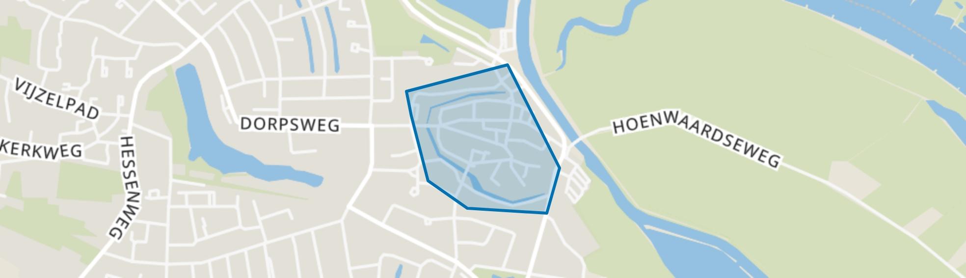Binnenstad, Hattem map