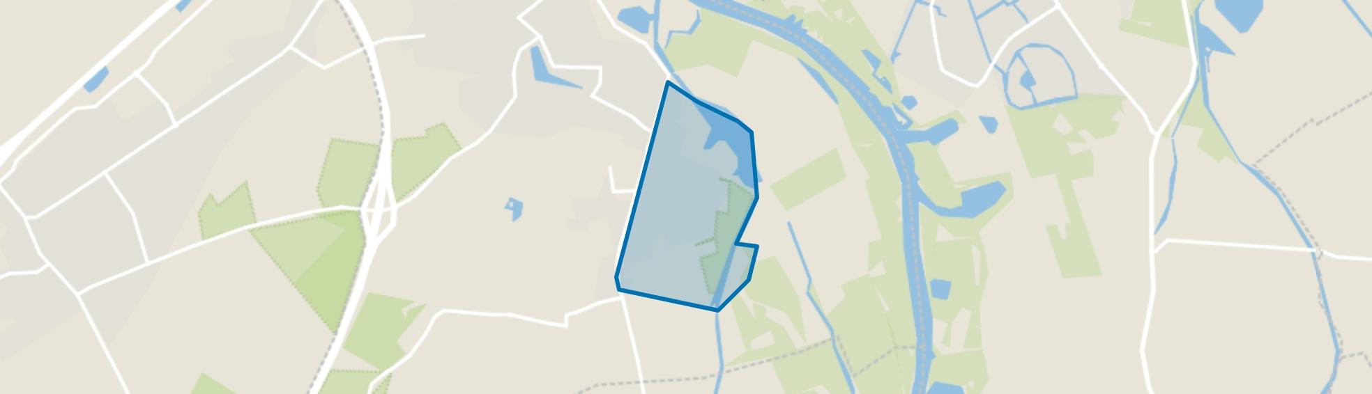 Ten oosten van Apeldoornseweg, Hattem map