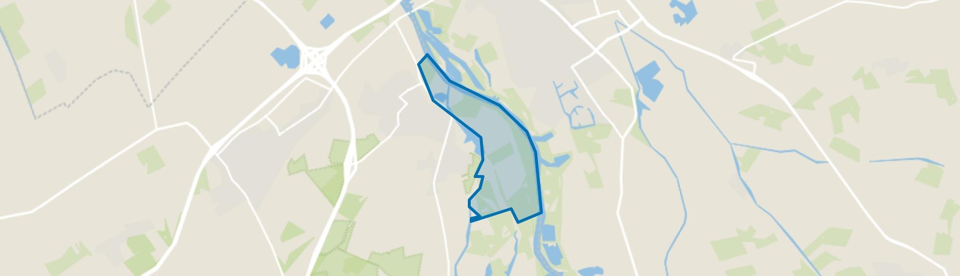 Verspreide huizen Hoenwaard, Hattem map
