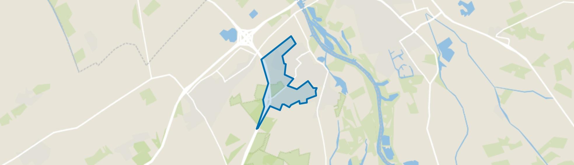 Verspreide huizen Koeweg en Molecaten, Hattem map