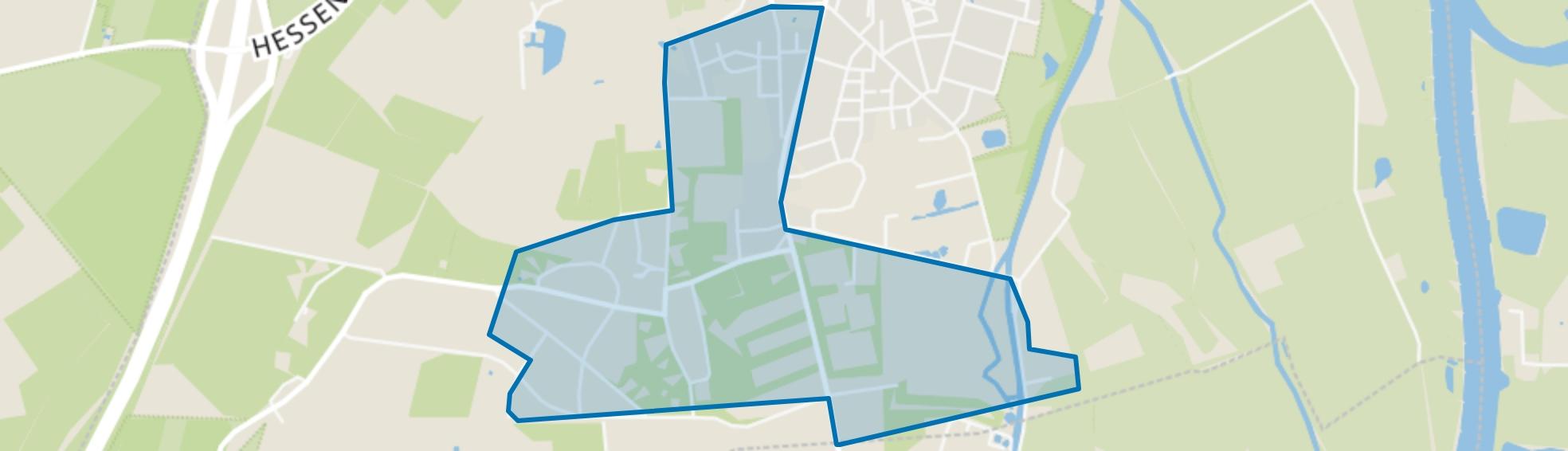 Villapark, Hattem map