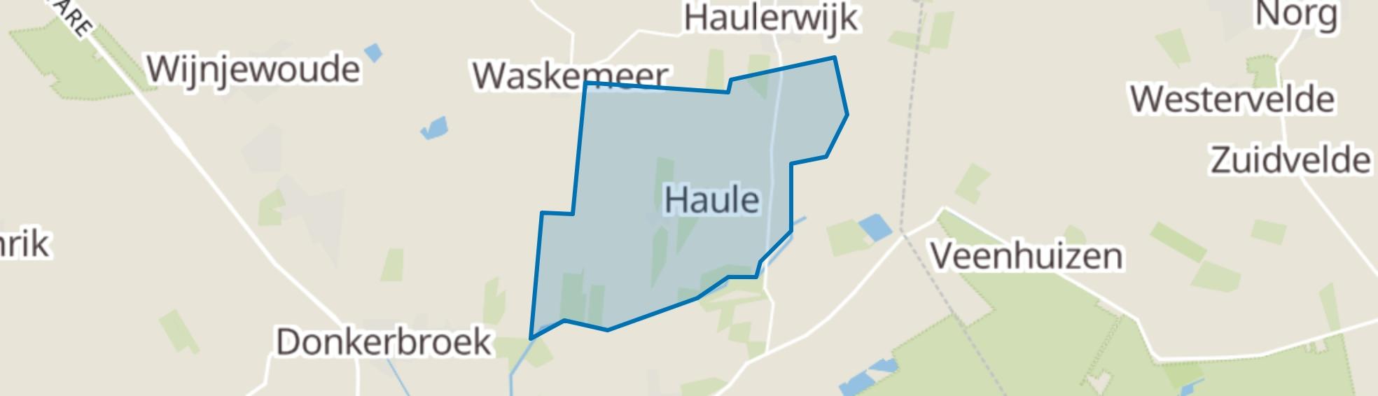 Haule map