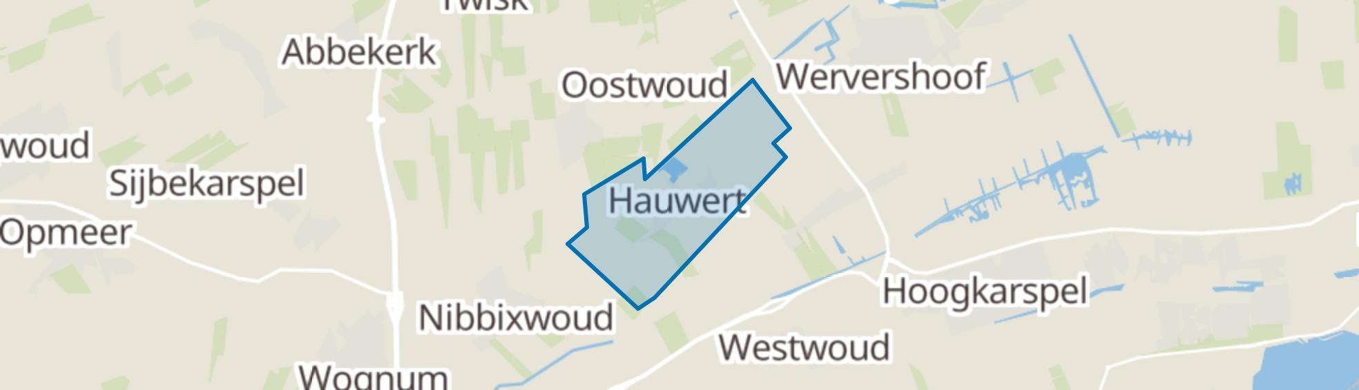 Hauwert map