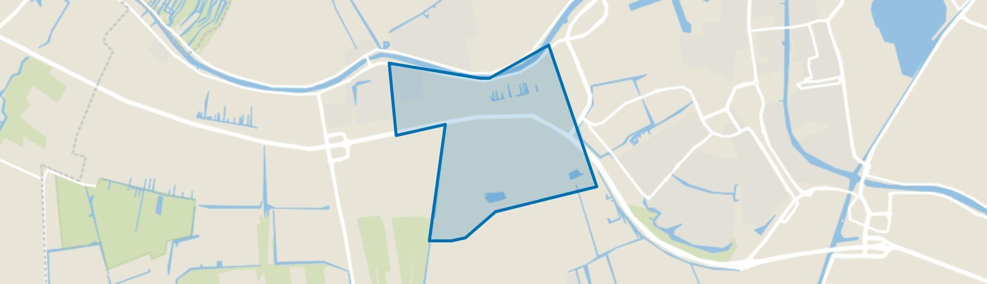 Buitengebied Hazerswoude-Rijndijk, Hazerswoude-Rijndijk map