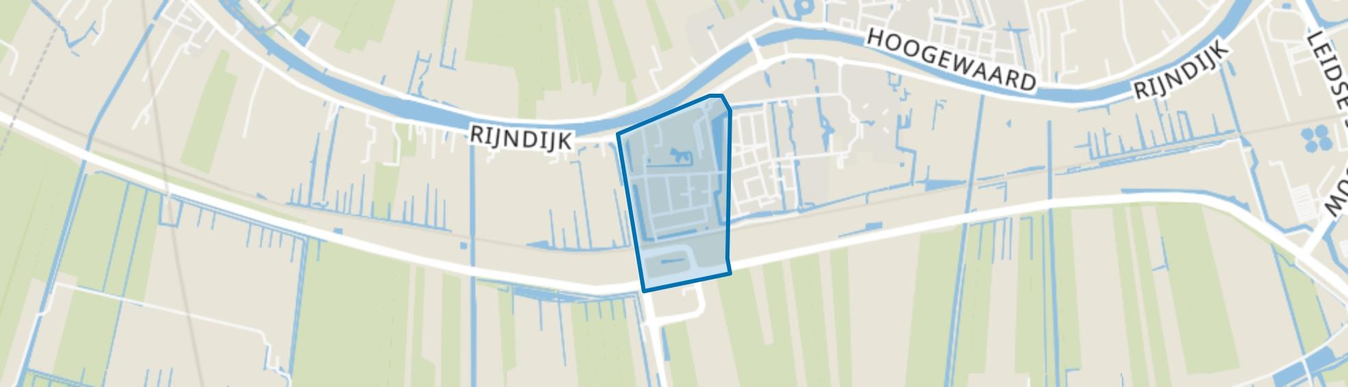 Rhynenburch, Hazerswoude-Rijndijk map