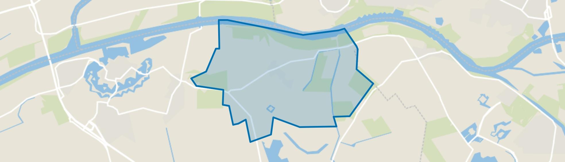 Hedikhuizen, Hedikhuizen map