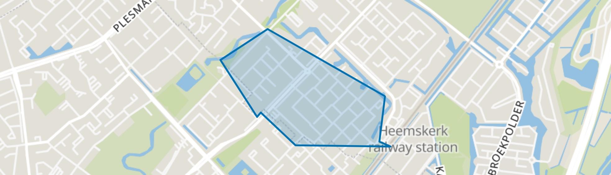 Oosterwijk, Heemskerk map