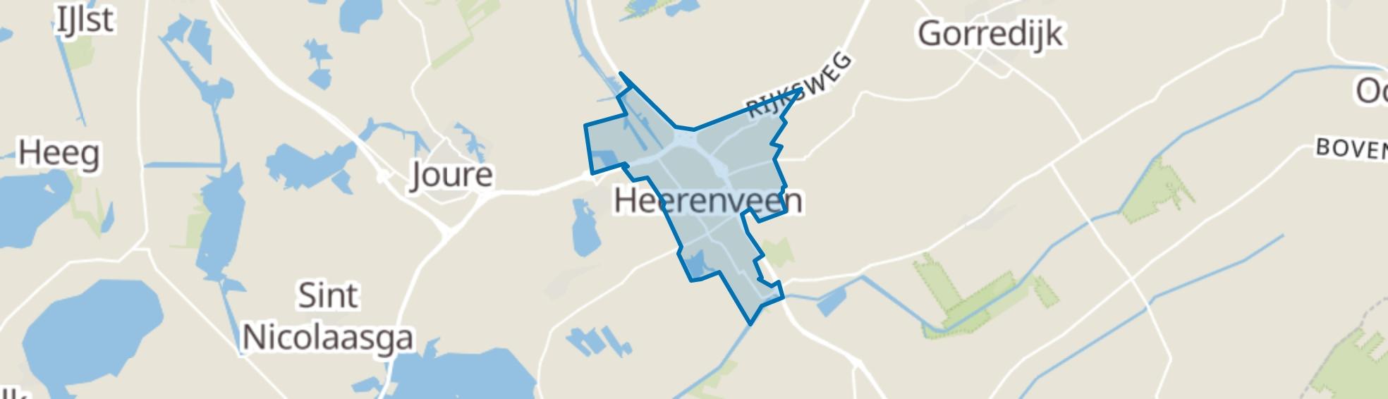 Heerenveen map