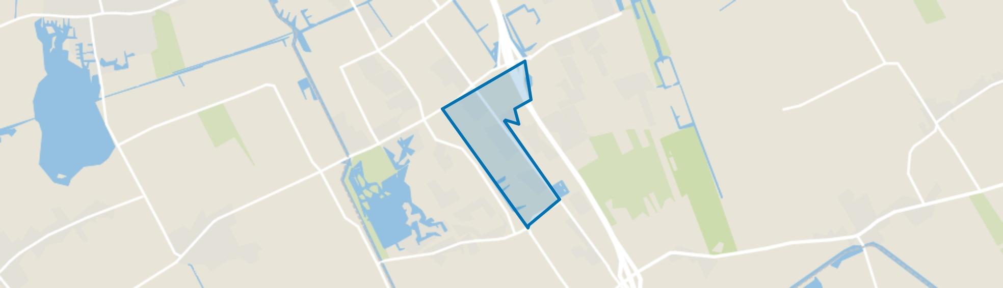 De Akkers, Heerenveen map