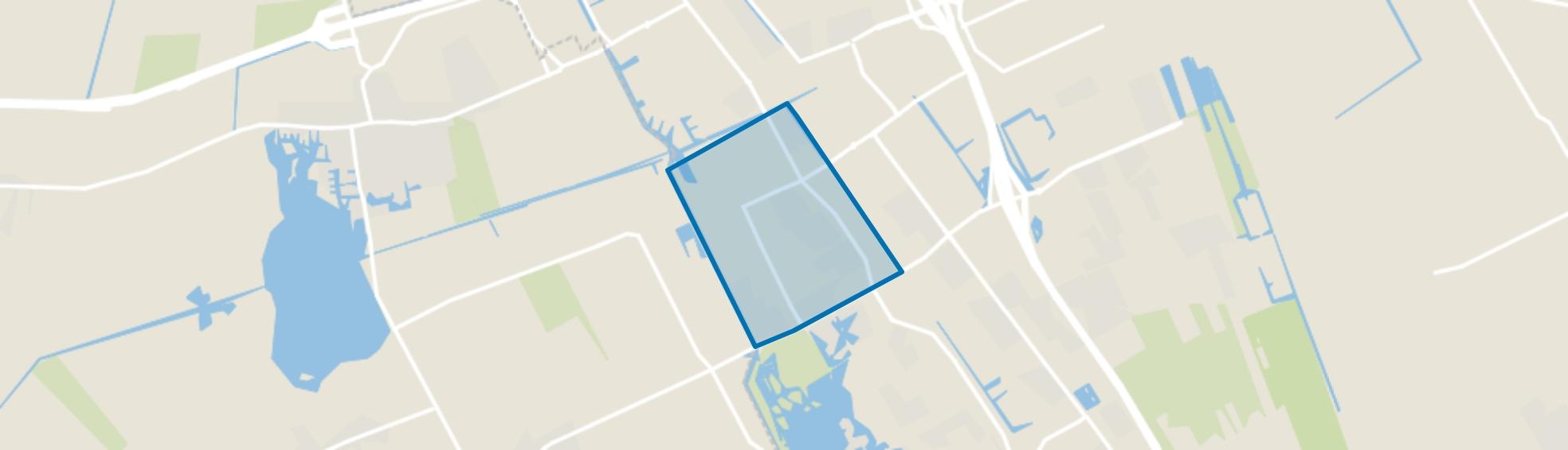 De Greiden, Heerenveen map