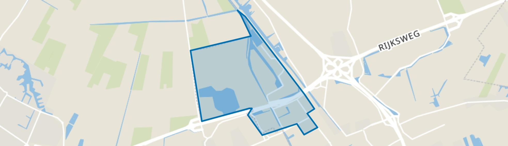 Haskerveen, Heerenveen map